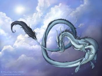 """Даосскоe упражнениe """"Плывущий дракон"""""""