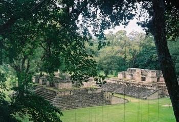 Копан - древний город майя