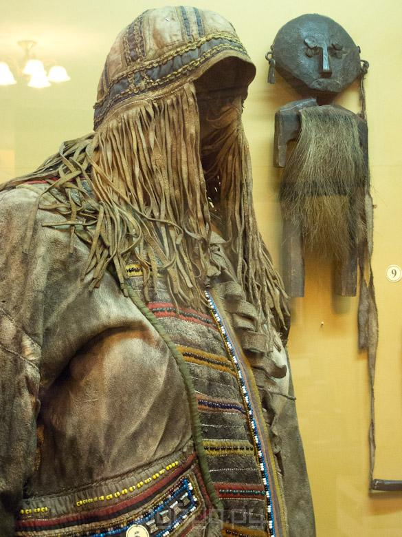 одежды головной убор коряцкого шамана старшим детям