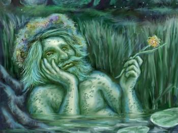 Водные существа в верованиях славян