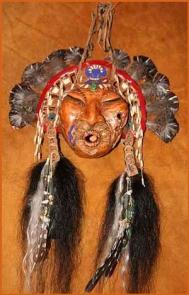 Зеркала, колпаки и маски. Их значение для шаманов