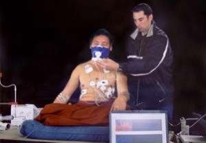 Практика йоги Tуммо. Изменения температуры тела.
