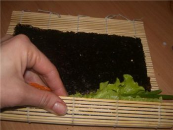 Универсальный рецепт суши